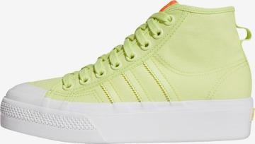 ADIDAS ORIGINALS Sneaker 'Nizza' in Yellow