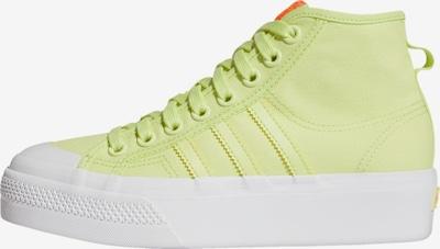 ADIDAS ORIGINALS Sneaker 'Nizza' in gelb / weiß, Produktansicht
