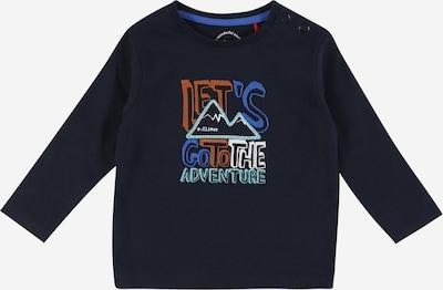 s.Oliver Junior Shirt in blau / navy / karamell / weiß, Produktansicht