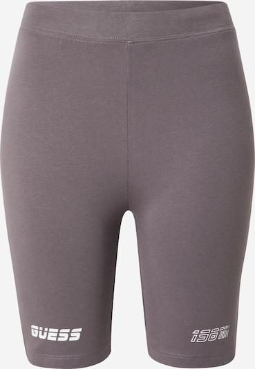 GUESS Sportske hlače 'ALLISON' u dimno siva / bijela, Pregled proizvoda