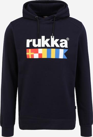 Hanorac sport 'VAROLA' Rukka pe albastru / albastru închis / galben / roșu / alb, Vizualizare produs
