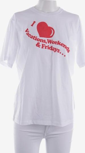 Victoria Beckham T-Shirt in XS in rot / weiß, Produktansicht