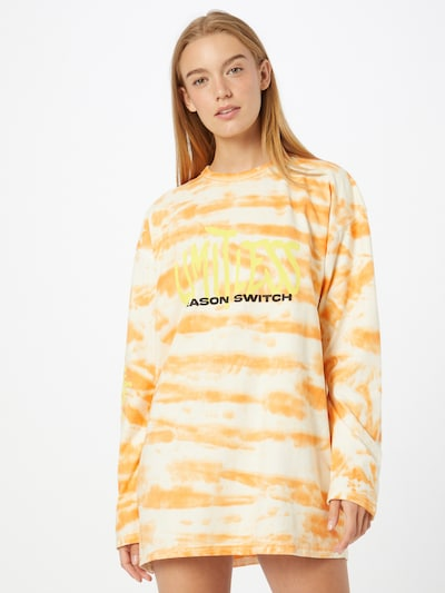 Public Desire Kleid in gelb / hellgelb / orange / schwarz, Modelansicht