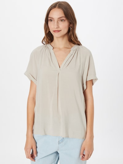 Q/S by s.Oliver Blouse in Nude, View model