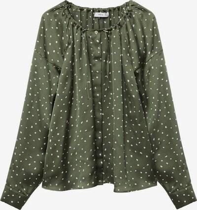 MANGO Bluse fida in grün, Produktansicht