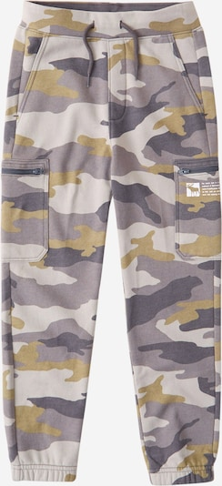 Abercrombie & Fitch Trousers in grey / light grey / khaki, Item view