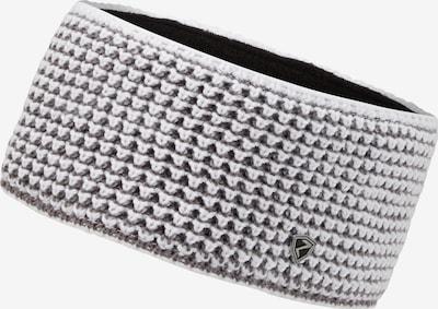ZIENER Stirnband in grau / weiß, Produktansicht