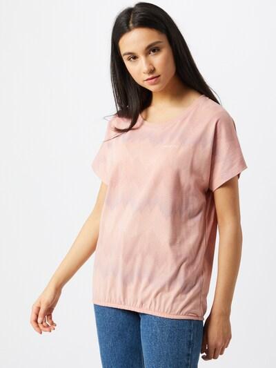 Maglietta 'Celina' mazine di colore lilla pastello / rosé / rosa antico / bianco: Vista frontale