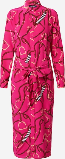 Lauren Ralph Lauren Shirt dress 'FAYELLA' in Mixed colours / Pink, Item view