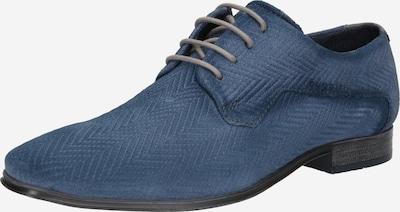 bugatti Buty sznurowane w kolorze gołąbkowo niebieskim, Podgląd produktu