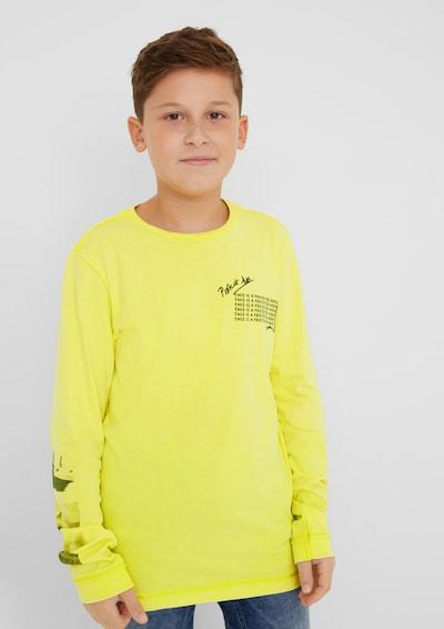 s.Oliver T-shirt i ljusgul: Sedd framifrån