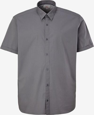 s.Oliver Overhemd in de kleur Grijs, Productweergave