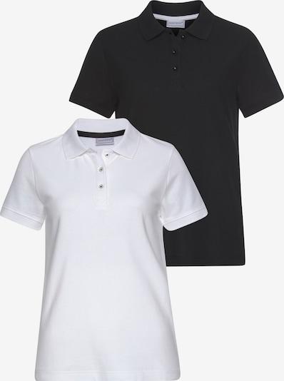 EASTWIND Eastwind Poloshirt in schwarz / weiß, Produktansicht