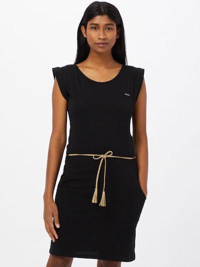 WLD Kleid 'Luna City' in sand / schwarz, Modelansicht