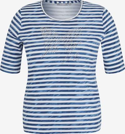 Rabe Shirt in blau / weiß, Produktansicht