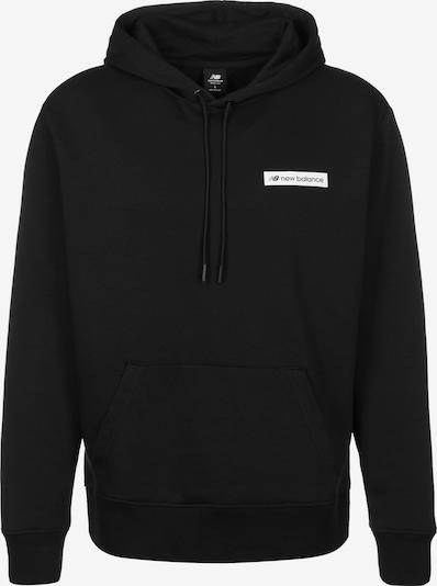 new balance Hoodie ' MT03526 ' in schwarz, Produktansicht