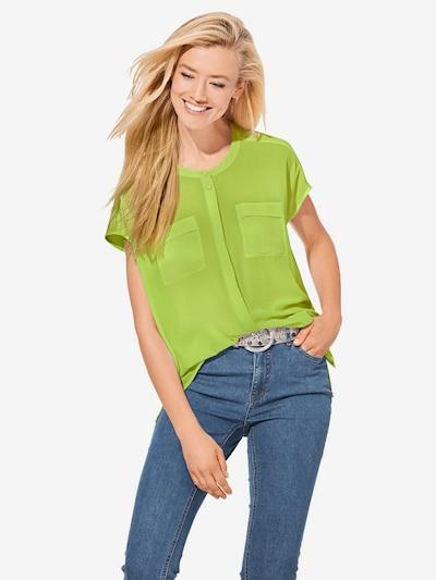 Bluză Linea Tesini by heine pe verde limetă, Vizualizare model