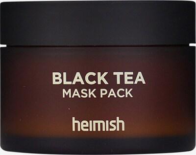 Heimish Maske 'Black Tea' in creme, Produktansicht