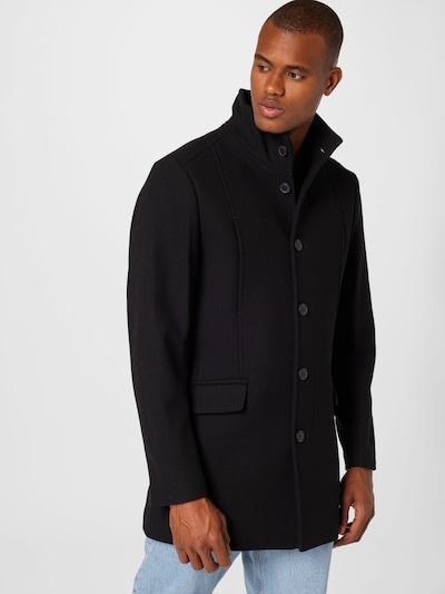 SELECTED HOMME Mantel 'MORRISON' in schwarz, Modelansicht