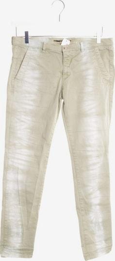 Monocrom Jeans in 29 in hellgrün / weiß, Produktansicht