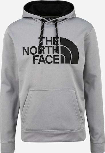 THE NORTH FACE Sportsweatshirt in de kleur Grijs / Zwart, Productweergave
