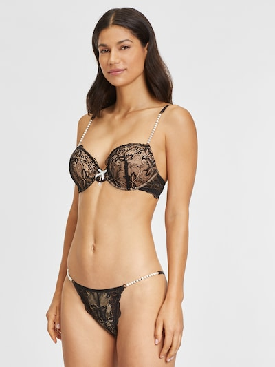 LASCANA Bikini bottom in Black: Frontal view