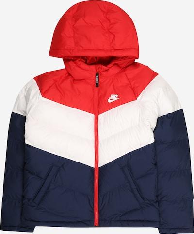 Nike Sportswear Veste mi-saison en bleu / rouge / blanc, Vue avec produit