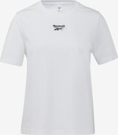 Tricou Reebok Classics pe alb, Vizualizare produs