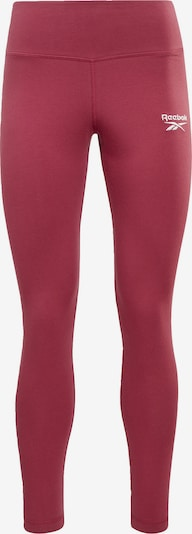 Reebok Sport Leggings 'Identity' in pitaya / weiß, Produktansicht