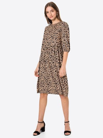 Rochie Trendyol pe maro cămilă / maro / negru, Vizualizare model