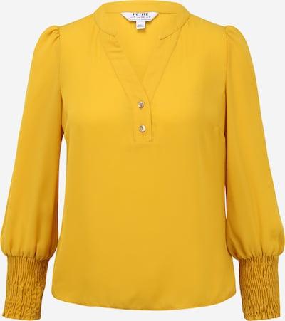 Dorothy Perkins (Petite) Bluse in gelb, Produktansicht