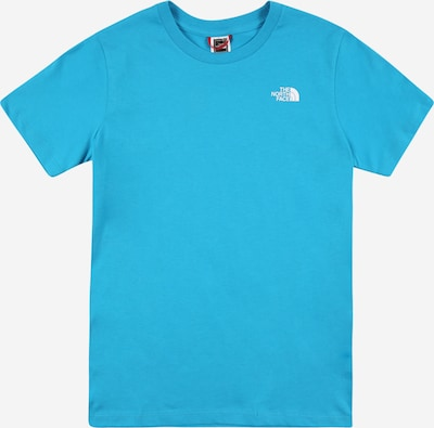 THE NORTH FACE Funktionsshirt in blau / weiß, Produktansicht