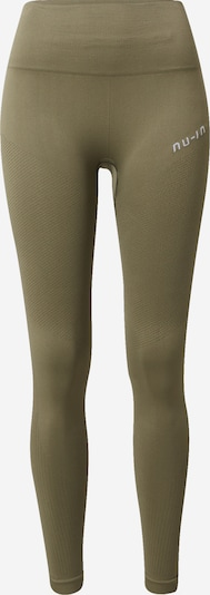 NU-IN Sportbroek in de kleur Kaki, Productweergave