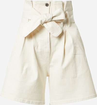 Bardot Bandplooi jeans in de kleur White denim, Productweergave