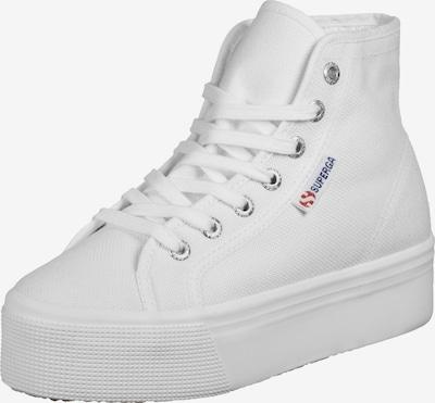 SUPERGA Sneaker in blau / rot / weiß, Produktansicht
