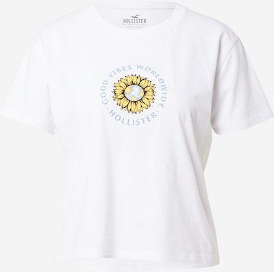 HOLLISTER Shirts i opal / gul / hvid, Produktvisning