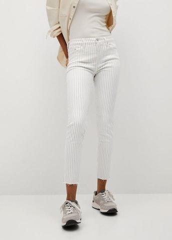 MANGO Jeans 'Isa' in Wit