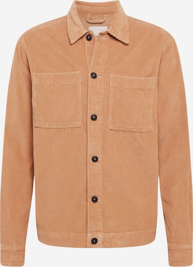!Solid Between-season jacket in Pastel orange, Item view