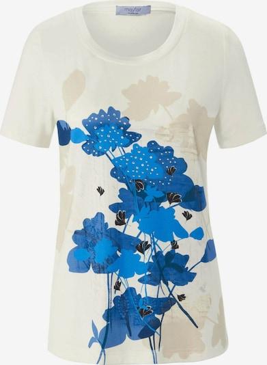 mayfair BY PETER HAHN Shirt in creme / blau, Produktansicht
