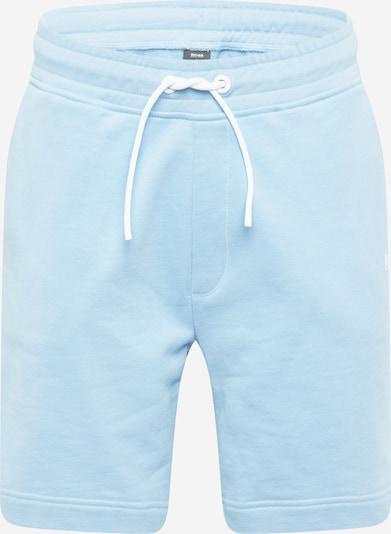 Pantaloni BOSS Casual pe albastru deschis, Vizualizare produs