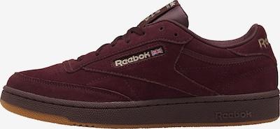 Sneaker low Reebok Classics pe roșu burgundy, Vizualizare produs