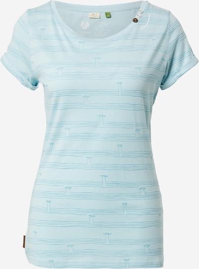 Ragwear Shirt 'FLORAH' in himmelblau / hellblau, Produktansicht