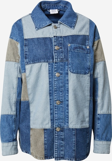 Bluză BDG Urban Outfitters pe bej / albastru / azur, Vizualizare produs