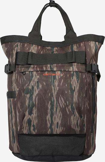 Carhartt WIP Sac à dos 'Payton Carrier' en chocolat / vert / noir, Vue avec produit