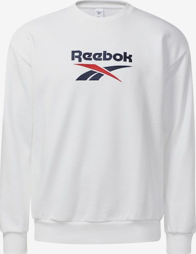 Reebok Classics Sweatshirt in Dark blue / Red / White, Item view