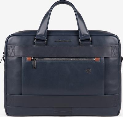 Piquadro Laptop Bag 'Obidos' in Dark blue / Brown, Item view