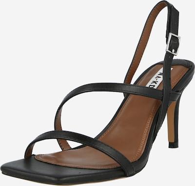 NA-KD Sandale in schwarz, Produktansicht