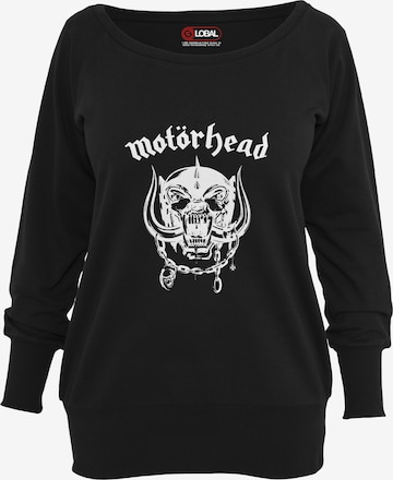 Merchcode Sweatshirt 'Motörhead Everything Louder' in Black