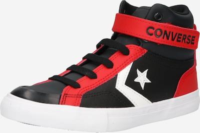 CONVERSE Sneaker en rot / schwarz / weiß, Vue avec produit