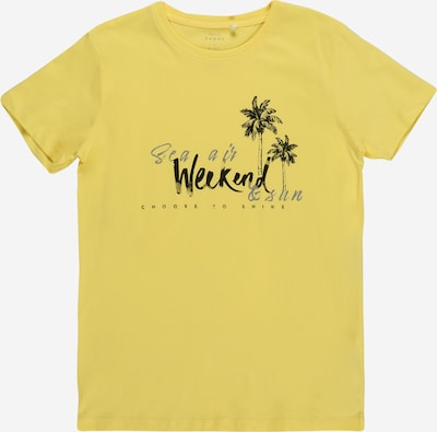 Marškinėliai 'VICTOR' iš NAME IT, spalva – geltona / juoda, Prekių apžvalga